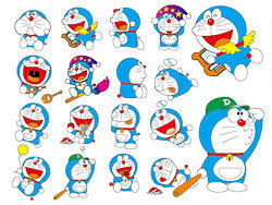 Doraemon Dora A Dream of vector material