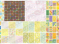 Useful background pattern vector material -1