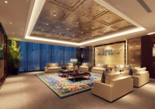 European-style luxury living room design model